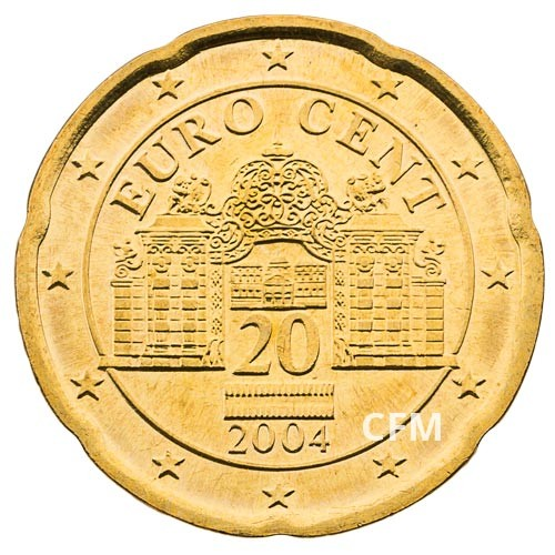2004 - AUTRICHE - 20 CENT