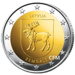 2 Euro Lettonie 2018 - Zemgale