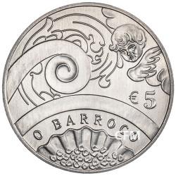 5 Euro Portugal 2018 Europa Star - le Baroque