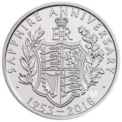 5 Livres Royaume-Uni BU 2018 - 65 ans du couronnement