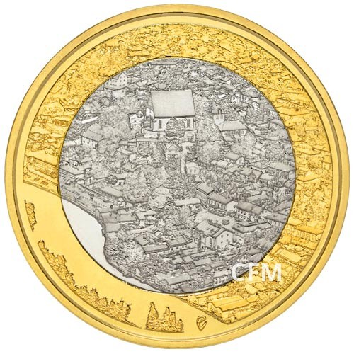5 Euro Finlande 2018 - Rivière Porvoonjoki