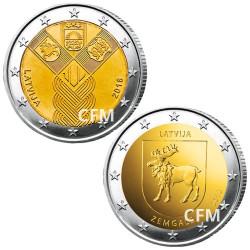 Lot des 2 x 2 Euro Lettonie 2018