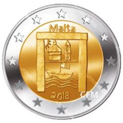 2 Euro Malte 2018 - Héritage Culturel