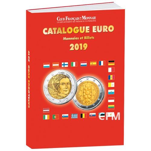 Le catalogue Euro 2019  Monnaies etBillets