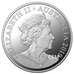 1 Dollar Argent Australie BU 2019 - Double portrait d'Elisabeth II