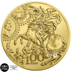 100 Euro Or France BE 2019 - Semeuse : Le Franc Germinal