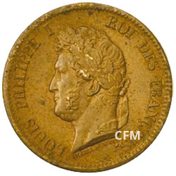 5 centimes Louis-Philippe - Colonies françaises