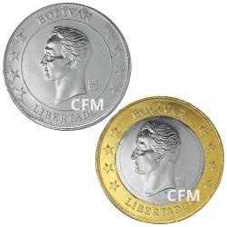 50 Cent + 1 Bolivar Venezuela 2018