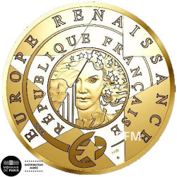 200 Euro Or France BE 2019 - Europa Star 2019 L'époque Renaissance