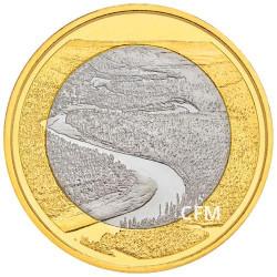 5 Euro Finlande 2018 - Paysages finlandais - Rivière Oulankajoki
