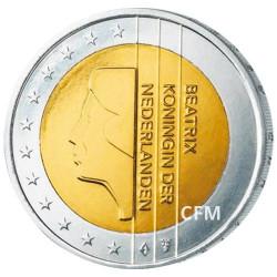 2 Euro Pays-Bas - Beatrix
