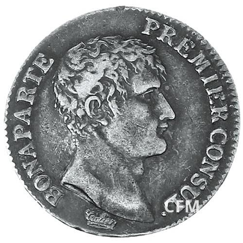 1 Franc Argent Bonaparte 1er consul