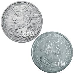 Lot des 2 x 50 Escudos Argent Portugal