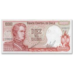 10 000 Escudos Chili 1967-1976