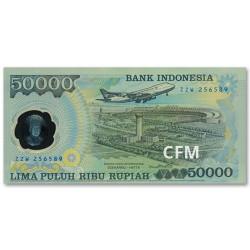 50 000 Roupies Indonésie 1993