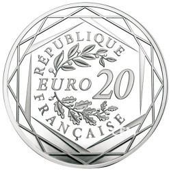 Lot des 3 x 20 Euro Argent France - Marianne 2017-2018-2019