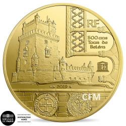 50€ Or France BE 2019 - Tour de Belém / Vasco de Gama