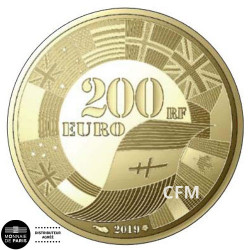 200 Euro Or France BE 2019 - D-Day