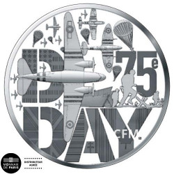 10 Euro Argent France BE 2019 - D-Day