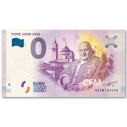 Billet souvenir 0 Euro Vatican 2018 - Jean XXIII