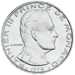 1 Franc Monaco 1960-1995 - Rainier III