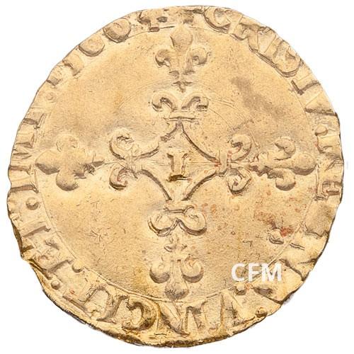Écu d'Or Charles IX au soleil