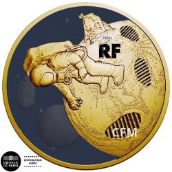 200 Euro Or France BE 2019 - Premiers pas sur la lune