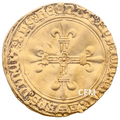 Écu d'Or Charles VIII au soleil