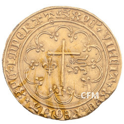 1421-1471 - France - Henri VI Salut d'Or