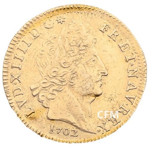 Louis d'Or Louis XIV aux 8L et aux insignes
