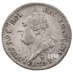 15 sols Argent Louis XVI
