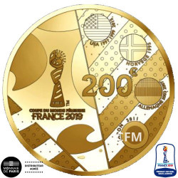 200 Euro Or France BE 2019 - Asie