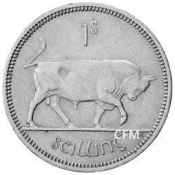 1 Shilling Irlande - Taureau