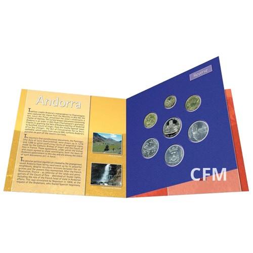 Série Pré-Euros Andorre BU 2002