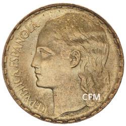 1 Peseta Espagne 1937