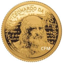 100 Francs Or BE 2019 - Leonard de Vinci