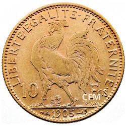 10 Francs Or - Marianne - IIIe République