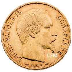 20 Francs Or Louis Nap. Bonaparte TN 1852A