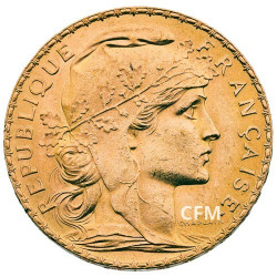20 Francs Or - Marianne 1909