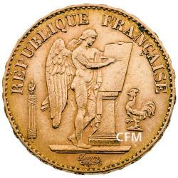 20 Francs Or Génie 1898 A - IIIe République