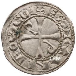 1 Denier Comté de Toulouse - Alphonse Jourdain (1112-1148)