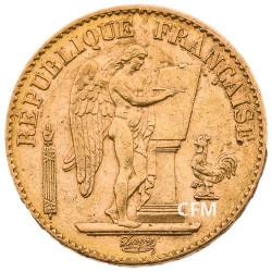 20 Francs Or Génie 1895 A - IIIe République