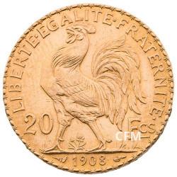 20 Francs Or - Marianne 1908