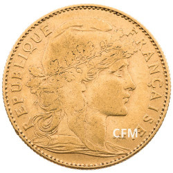 1900 - 10 Francs Or - Marianne IIIe République