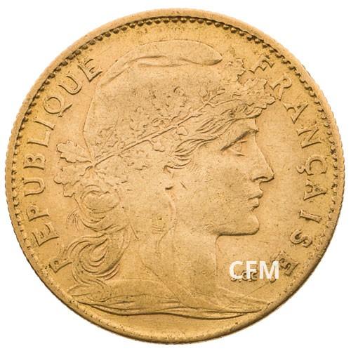 1905 - 10 Francs Or - Marianne IIIe République