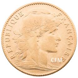 1907 - 10 Francs Or - Marianne IIIe République