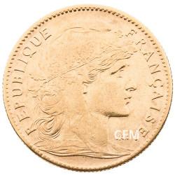1909 - 10 Francs Or - Marianne IIIe République