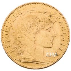 1910 - 10 Francs Or - Marianne IIIe République