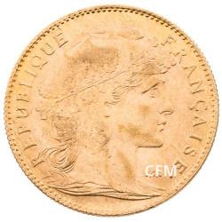 1912 - 10 Francs Or - Marianne IIIe République