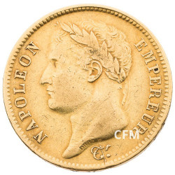 40 Francs Or Napoléon Empereur 1810 W TL